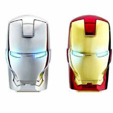 8GB Flash Drive For Iron Man Avengers USB 2.0 Memory Stick Metal Thumb Storage