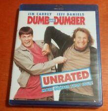 Dumb and Dumber Blu-ray Unrated Jim Carrey  Jeff Daniels  Lauren Holly  Duffy