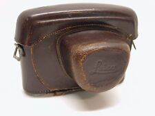 LEICA ORIGINAL LEATHER EVEREADY CAMERA CASE..FITS EARLY M MOUNT BODIES..LA1
