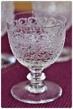 Verre à liqueur n°6 en cristal de Baccarat modèle Rohan ancien 1931/1936