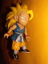 Dragonball GT Jakks Super Saiyan 3 Kid Goku Dirty Hair DBGT DBZ 2004