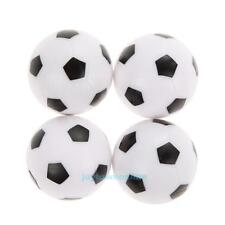 4Pcs 36mm Plastic Soccer Table Foosball Replacement Ball Football Indoor Game