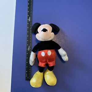 """2015 TY SPARKLE 13"""" PLUSH MICKEY MOUSE Great Condition"""