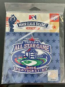 2004 Minor League Baseball All Star Gamel Jersey Sleeve Patch Pawtucket RI