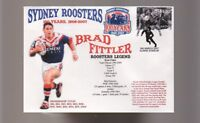 BRAD FITTLER SYDNEY ROOSTERS 100th ANNIV RUGBY COVER