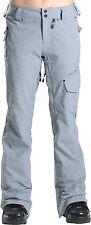 VOLCOM Women's PLATEAU Pants - Small - GRY - NWT