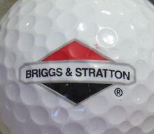 (1) BRIGGS & STRATTON ENGINE LOGO GOLF BALL