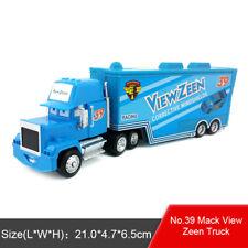 Disney Pixar Car Mack No.39 View Zeen Racer's Hauler Truck Toy Model Car 1:55
