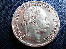 !!! 1 Gulden 1890 - Silbermünze Franz Joseph I 1848 - 1916  !!!