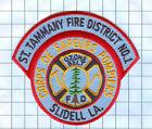 Fire Patch - St. Tammany Fire District No. 1 Slidell LA.