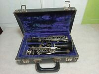 Normandy  USA Clarinet with Hardcase,Buffet Crampon  125G  Clarinet Mouthpiece