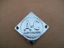 "New Allis Chalmers ""D"" Series metal Steering Wheel Center Cap"