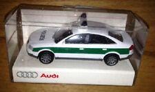 Rietze 1:87 AUDI a6 c5 (1997-2004) AUTO della POLIZIA POLICE CAR 5 cm
