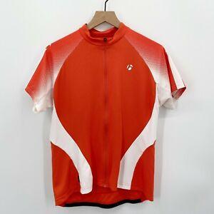 Bontrager Women's Sz L Cycling Jersey Short Sleeve Full Zip Back Pockets