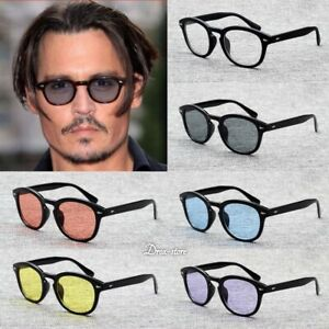 Vintage Sunglasses Frame Retro Clear Glasses Tinted Lens Fashion Men