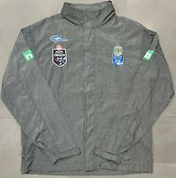 Classic NRL NSW State Of Origin 2015 Wet Weather Jacket. Size M, Excellent Cond.