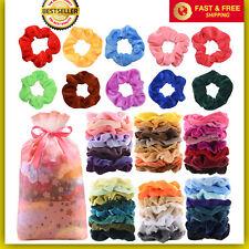 60 Pcs Premium Velvet Hair Scrunchies Hair Bands Scrunchy Hair Ties Ropes Scrunc