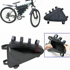 39cm Mountain Bike Triangle Large Capacity Tube Frame Bag Kit Tool Battery Bag