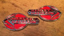 61775-59T HARLEY DAVIDSON TANKEMBLEME - NEU UND OVP - PAN HEAD - DUO GLIDE