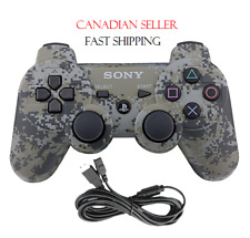 Military Camouflage PS 3 PlayStation 3 Wireless Bluetooth Controller With Box
