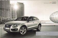 Audi Q5 2009-10 UK Market Sales Brochure Standard SE S Line Special Edition
