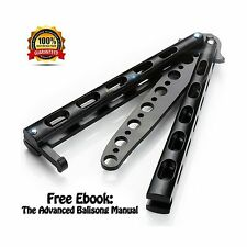 Anlado Premium Balisong Butterfly Knife Trainer Practice - Enhanced Version NEW