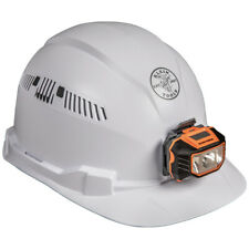 Klein Tools 60113 Hard Hat, Vented, Cap Style with Headlamp