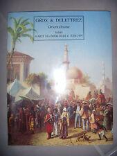 Peinture orientalisme, Objets Islam: Calatogue des ventes Drouot, 1997, TBE