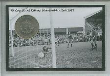 HEREFORD UNITED FC Edgar Street Ronnie Radford FA Cup Rétro Pièce Ensemble Cadeau 1972
