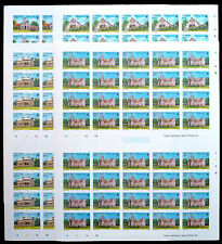 NEVIS 1985 Xmas (4) Imperforate Complete Sheets of 40 NEW LOWER PRICE BN 760