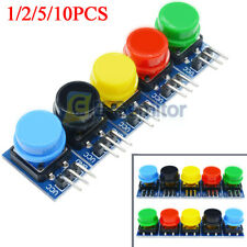 Big Key Push Button 12x12mm Light Touch Switch w/ Hat Output Module for Arduino