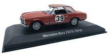 "Minichamps 1/43 Mercedes Benz  W113 ""Pagode"" 230 SL Rallye SPA 1963 B6 6040290"