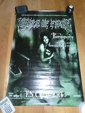 CRADLE OF FILTH - Affiche de concert / Tour poster THORNOGRAPHY !!!