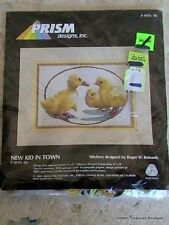 "Prism Designs Inc. ""New Kid In Town"" Crewel Embroidery Kit #P-Mta 55"
