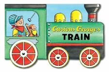 Curious George's Train (mini Movers Shaped Board Books) by H. A. Rey (2014,...