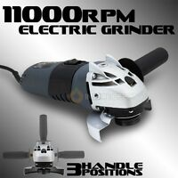 """4-1/2"""" Electric Angle Grinder Cutting Power Tools 11000RPM Grinding 900W UL CUL"""