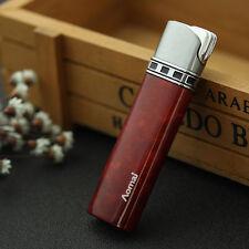 Red Fashion Cigar Butane Gas Refillable Jet Flame Cigarette Lighter