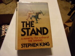 The Stand by Stephen King - Vintage 1978 Hardcover - Doubleday Book Club Edition