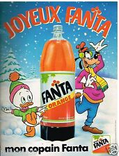 Publicité Advertising 1988 Boisson soda Limonade Fanta
