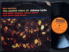 JOHNNY LYTLE Nice And Easy LP JAZZLAND JLP 67 MONO Bobby Timmons Johnny Griffin