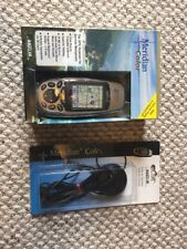 Magellan Meridian Color Handheld GPS Bundle w External Antenna Cable, Manual