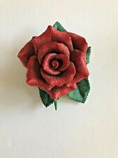 1992 Lenox Red Rose Flower Fine Porcelain Figurine with original box
