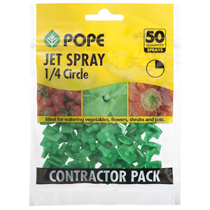 Pope Micro Quater Circle Jet Spray - 50 Pack Sprays