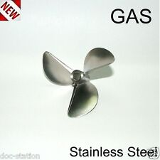 6816/3 GAS 30 CC WORLD CHAMPION PROPS STAINLESS STEEL PROPELLER RC BOAT MATT