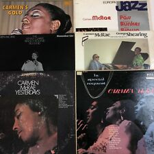 CARMEN McRAE 6 x LP LOT Gold/By Special Request/November Girl/Yesterdays +