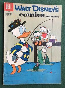 Walt Disney's Comics and Stories #237 Dell Comics Silver Age g/vg