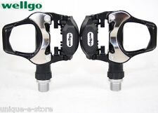 "New Wellgo R251 Road Bike Bicycle Cycling 9/16"" Pedals"