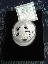 2017 5oz CRUCIBLE .999 Ag PROOF Silver Shield Group SSG 777 ROUND BAR