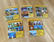 Was uns die Bibel erzählt / Bibelbilderbuch 1-5   Kinder Bibel - Kees de Kort
