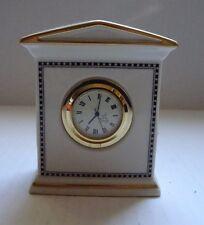 Lenox China Forum Black Clock
